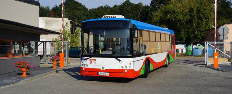 Autobus MZK Puławy