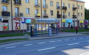 Przystanek Piaskowa – Hala Targowa 125