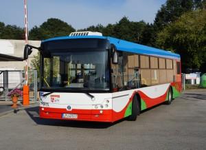 Solbus SM12 na nowej zajezdni MZK